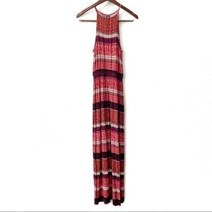 American Eagle Soft & Sexy High Neck Maxi Dress